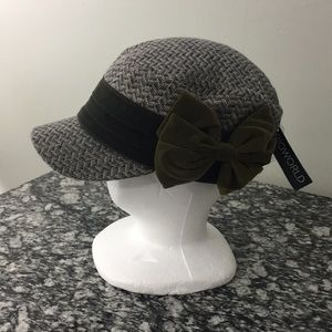Bioworld  Patrol Hat with Velvet Bow